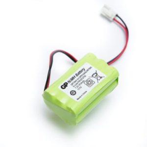 Nikkel metalhydrid batterier (genopladeligt batterier)